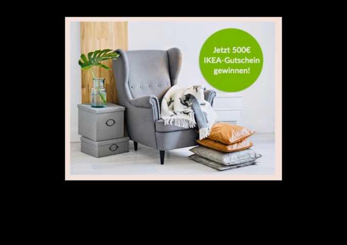 IKEA-Gutschein 500 Euro uvm.